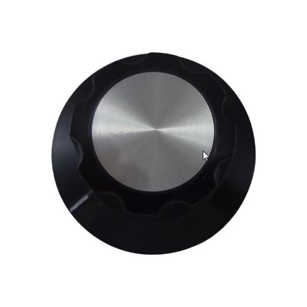 Black Knob//Dial With Set Screw