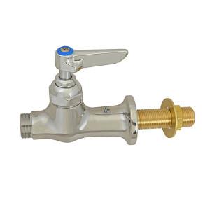 Deck Mount 18 Flexible Inlets 8 Swing Nozzle Lever Handles 18 Flexible Inlets 8 Swing Nozzle T/&S Brass 5F-2SLX08 Faucet Single Hole Base