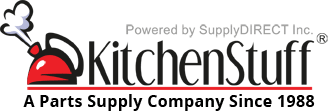Buy parts for all food service equipment; hard to find parts, accessories and tools. We carry items for cooking, refrigeration, ware-washing, preparation, exhaust systems, kitchen plumbing, storage and restrooms